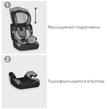 Автокресло Lorelli Kiddy