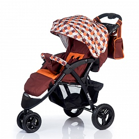 Коляска Babyhit Voyage AIR brown-orange