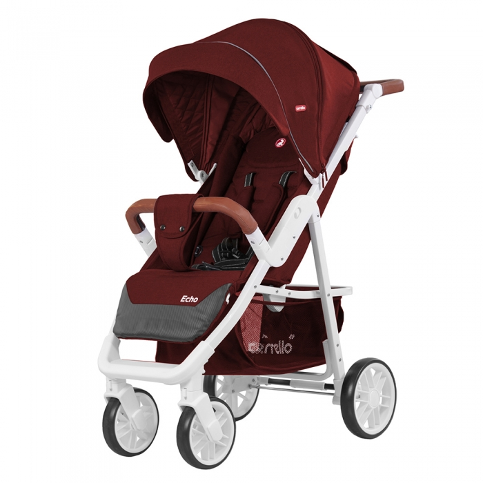 Коляска CARRELLO ECHO CRL-8508 Rose Red