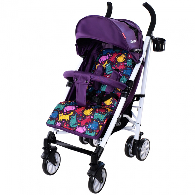 Коляска CARRELLO Allegro Kitty Purple