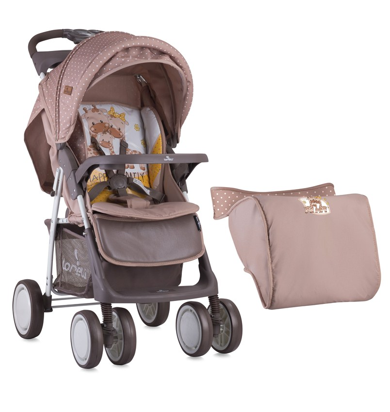 Детская коляска Lorelli Foxy Beige Yellow Family